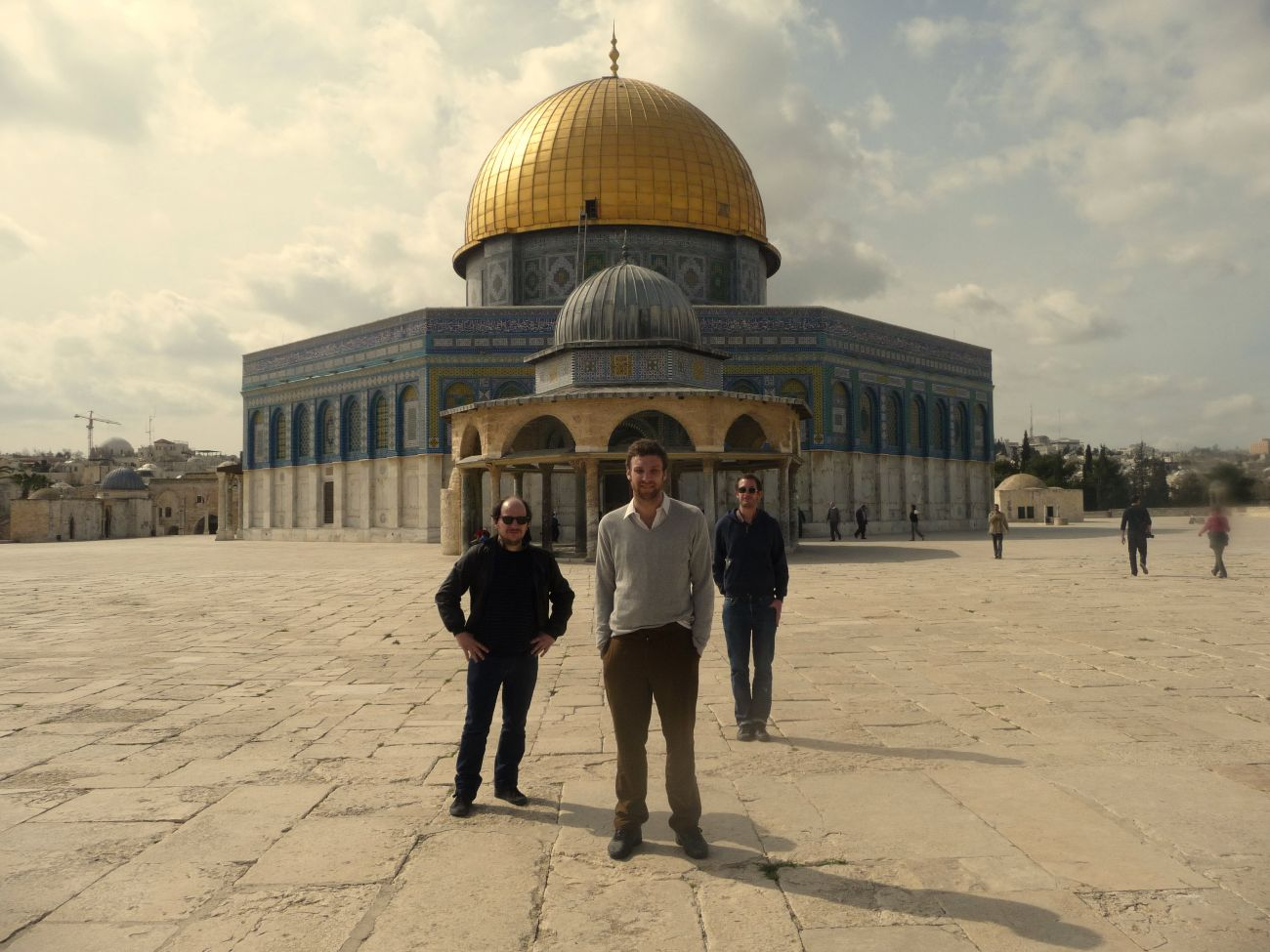 cheveu @ temple mount esplanade des mosquées jerusalem 2010-01 (c) marie alegre_LL92