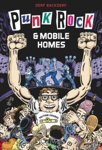 Punk Rock & Mobile Homes, couverture © Derf Backderf