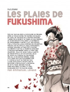 Fukushima © Emmanuel Lepage