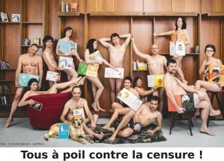 Tous a poil contre la censure © Charles Delcourt, Lightmotiv
