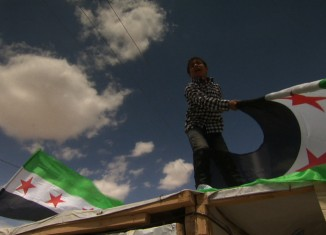 Syrie, les Enfants de la Liberté, d'Amal Moghaizel et Frédéric Tonolli - Visuel © DR