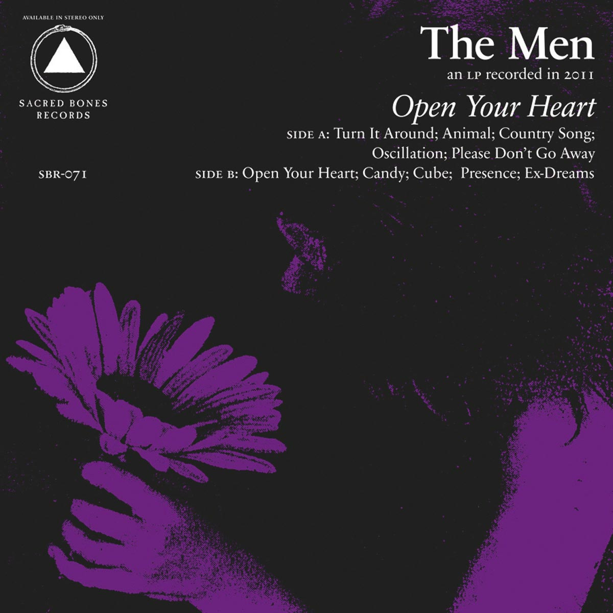 The Men, Open Your Heart - Pochette