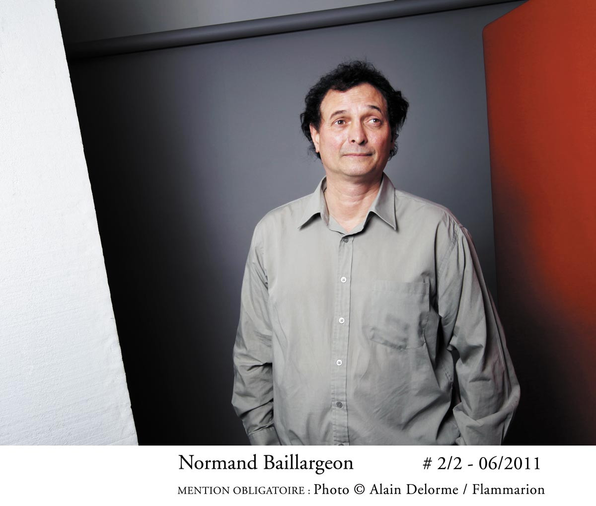 Normand Baillargeon © Alain Delorme