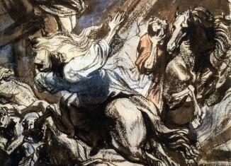 Anton van Dyck, Martyre de sainte Catherine © ENSBA, Paris