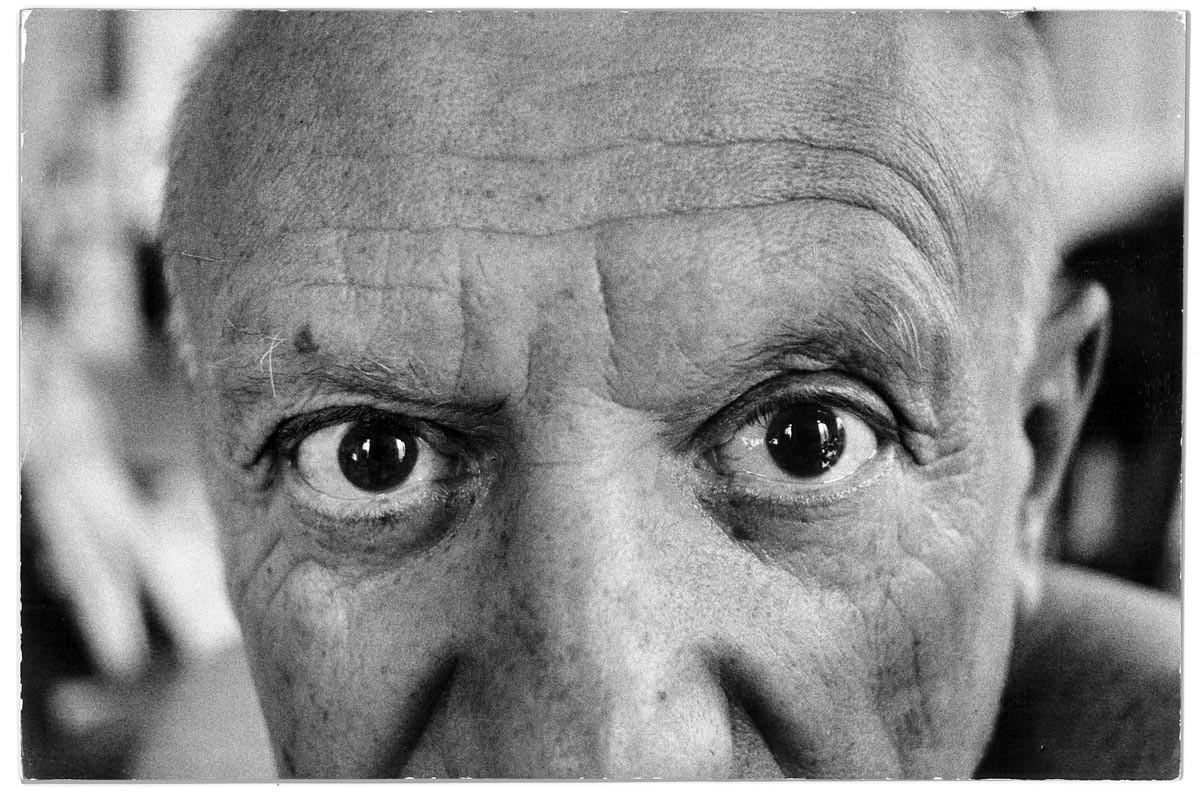 Le regard de Picasso © David Douglas Duncan