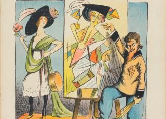 LUC, « Le …bisme expliqué », dessin paru dans Le Journal amusant, n° 698, 8 novembre 1912. Photo : N. Dewitte / LaM. © DR.