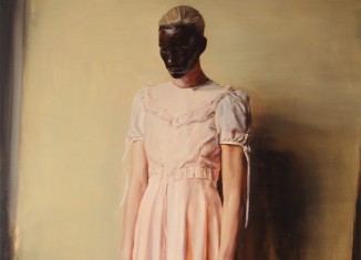 Michaël Borremans, The Angel, 2013, Courtesy Zeno X Gallery Antwerp © Dirk Pauwels