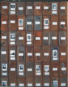 Christian Boltanski - Les Registres du Grand-Hornu,1997 © Ph Degobert
