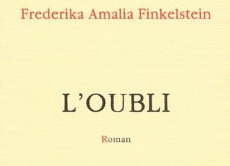 Federika Amalia Finkelstein, L'Oubli