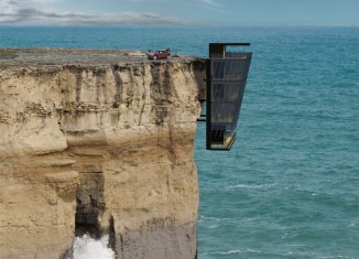 cliff house, concept by modscape