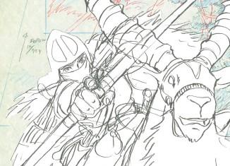 Ashitaka (Princesse Mononoke) © FXP, Studio Ghibli