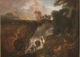 Antoine Watteau, La Chute d'eau, avant 1715 © Musée du Louvre, département des Peintures, dépôt au Musée des beaux-arts de Valenciennes © DR