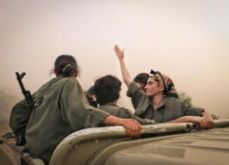 Les Amazones du PKK © Colin Delfosse