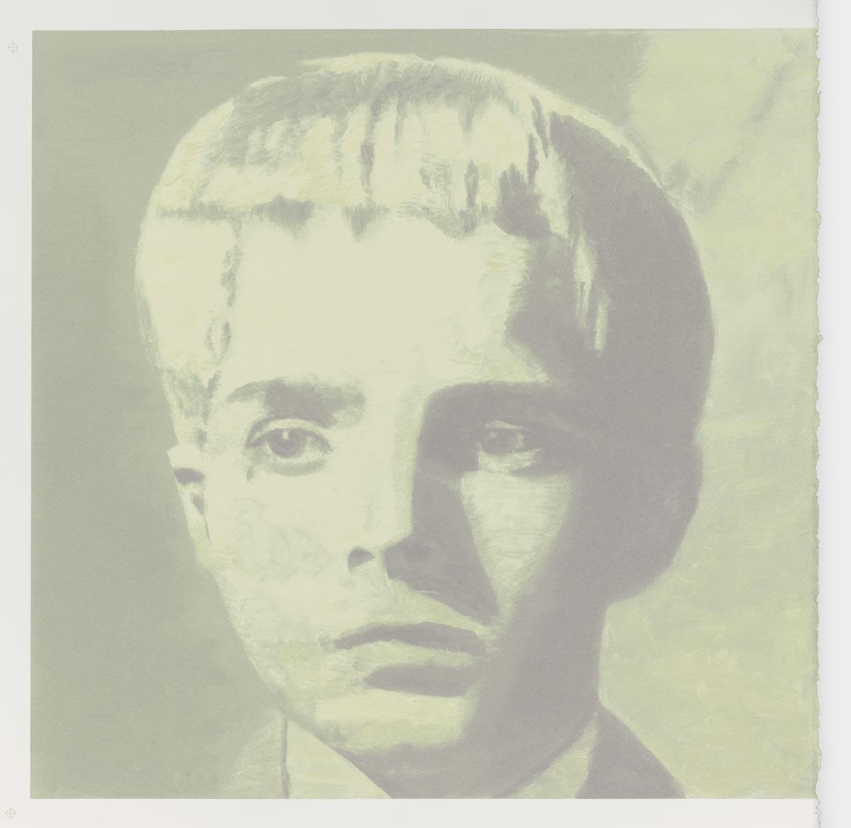 The Valley    Sérigraphie, 2012, 71 x 72.5 cm, edition de 75 + XXXV Edité par Graphic Matter, Anvers Imprimé par Roger Vandaele, Anvers Collection Studio Luc Tuymans