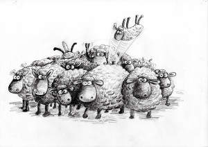 Shaun le Mouton © Aardman Animations Ltd