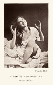 Attitudes passionnelles : Extase, 1877-1878 / © Nouvelle iconographie de la Salpêtrière, Paris