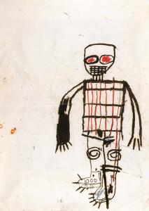 Jean-Michel Basquiat, Autoportrait, 1983. Photo : DR. Courtesy Collection agnès b. © The Estate of Jean-Michel Basquiat / Adagp Paris, 2015.