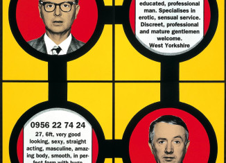 Gilbert & George, Phone, 2001. Photo : DR. Courtesy collection agnès b. © Gilbert & George, 2015.