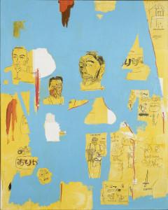 Jean-Michel Basquiat, Plastic Sax, 1984. Photo : DR. Courtesy collection agnès b. © The Estate of Jean-Michel Basquiat / Adagp Paris, 2015.