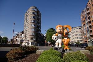 Boule & Bill ©Charleroi Tourisme Gina Santin
