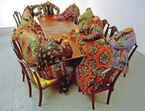 Les mondes inverses Yinka Shonibare MBE, Scramble for Africa, 2003 © Collection Pinnell