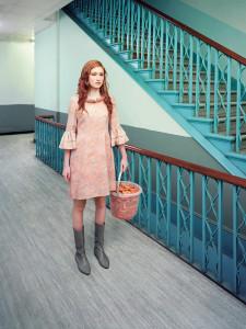 David Stewart, Indecision Prawn girl (Transparent)