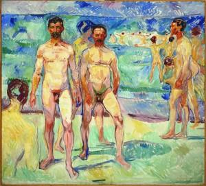 Munch, Baigneurs