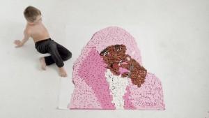 Cam'ron Lego Sculpture