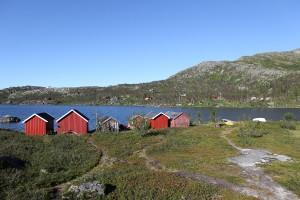 Ricksgransen, entre la Norvège et la Suède.
