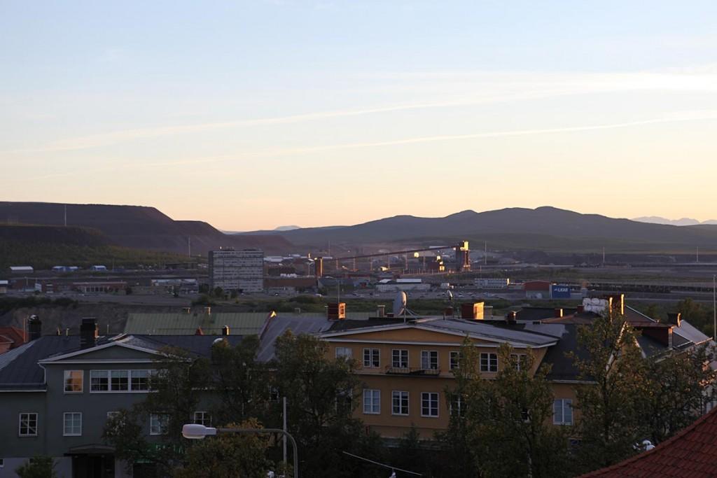 Kiruna, Laponie (Suède).