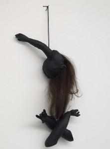 Annette Messager - Avec nos cheveux 2013-14 ©Marc Domage