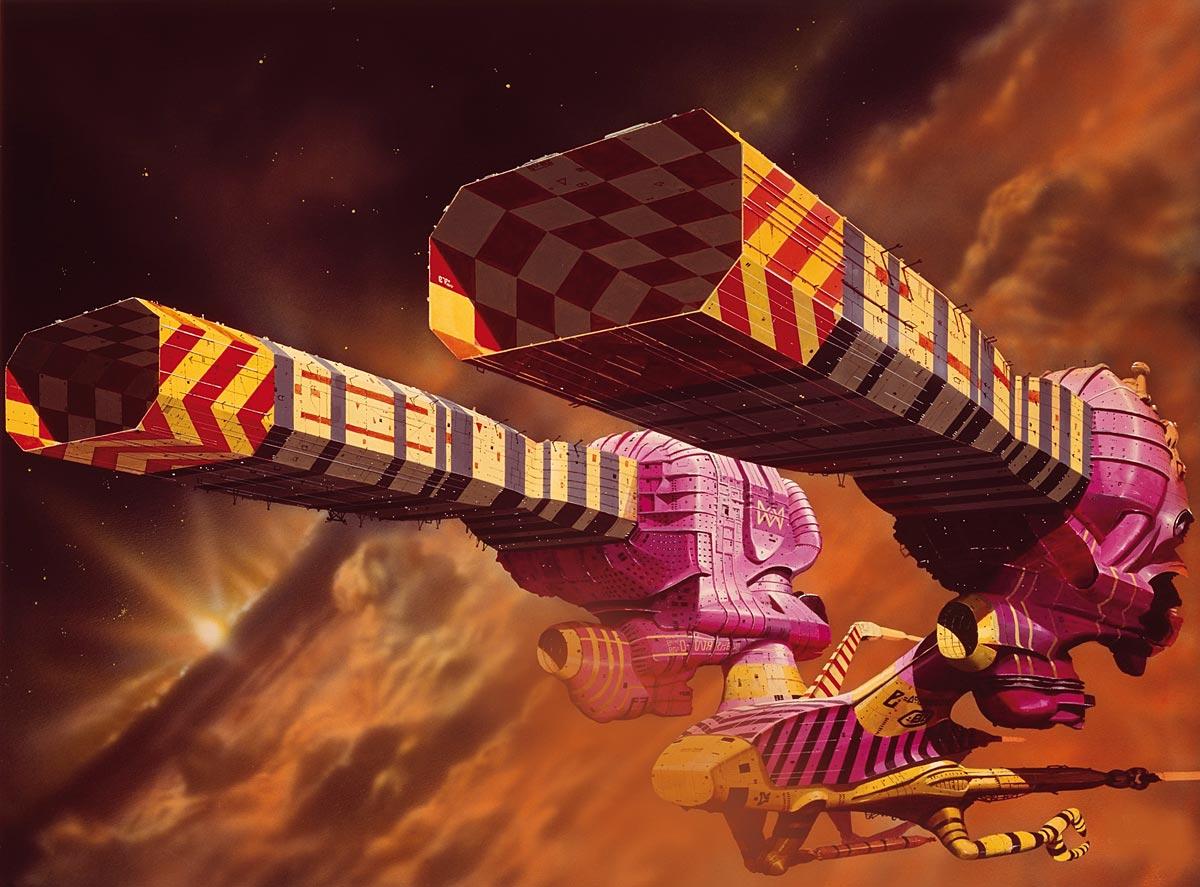 Jodorowsky's Dune - ©Chris Foss Guild Tug