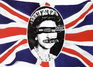 ©Jamie Reid - Sex Pistols «God-save-the-Queen»