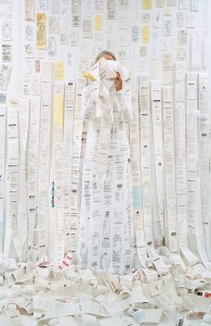 Rachel Perry_Lost in My Life (receipts)_©Rachel Perry