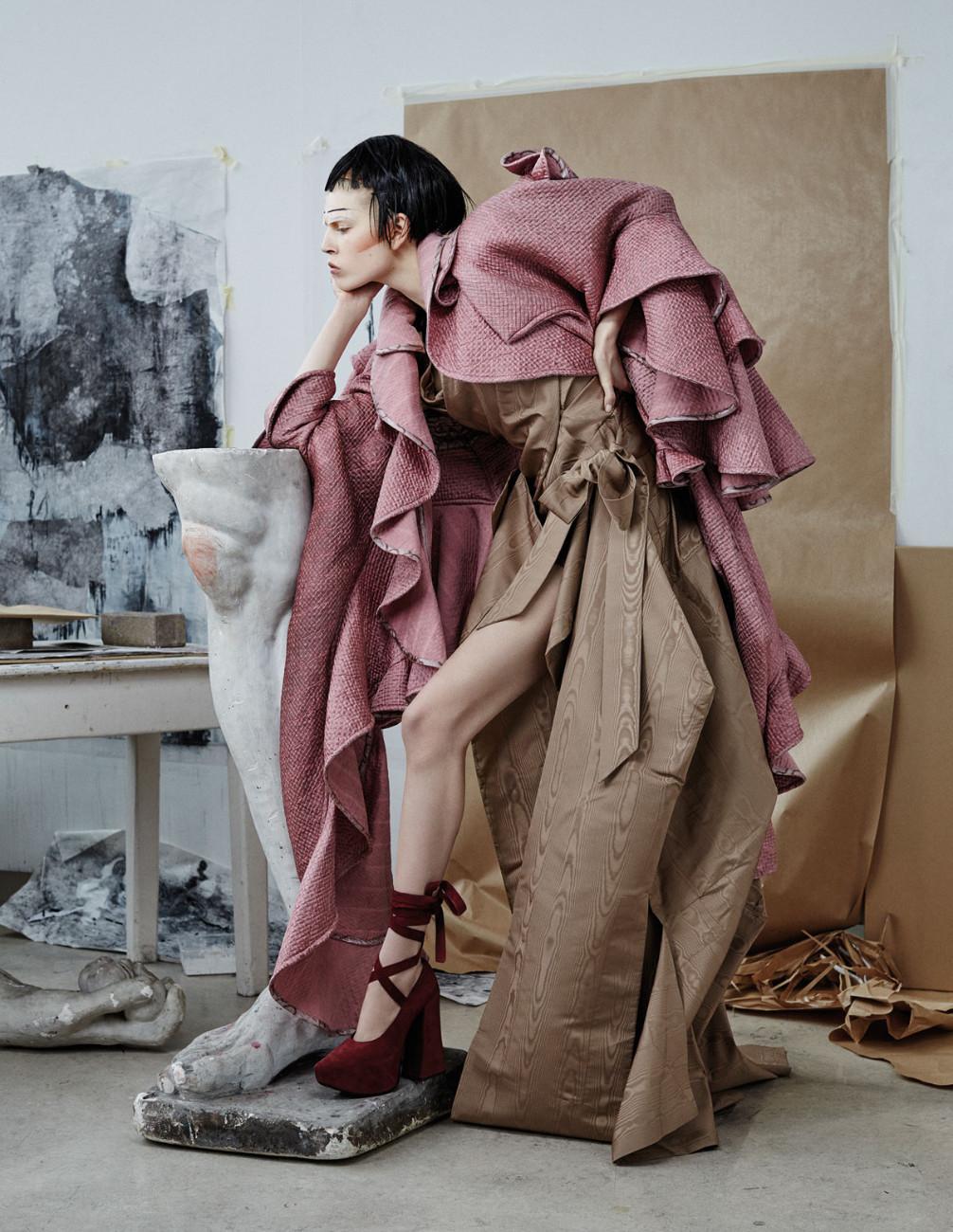 Haute-à-Porter - Vivienne Westwood A/W 15-16 © Photo René Habermacher, Modemuseum Hasselt