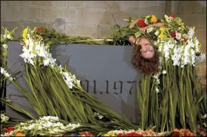 Preparatio Mortis, création de Jan Fabre, festival NEXT (2010), © Pascal Gély