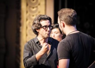 Jean Bellorini, Répétitions de La Cenerentola © Simon Gosselin
