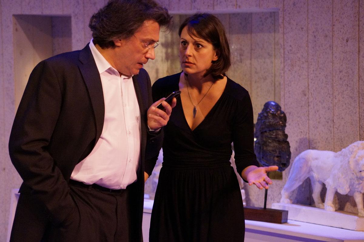 Pierre Pigeolet et Christel Pedrinelli