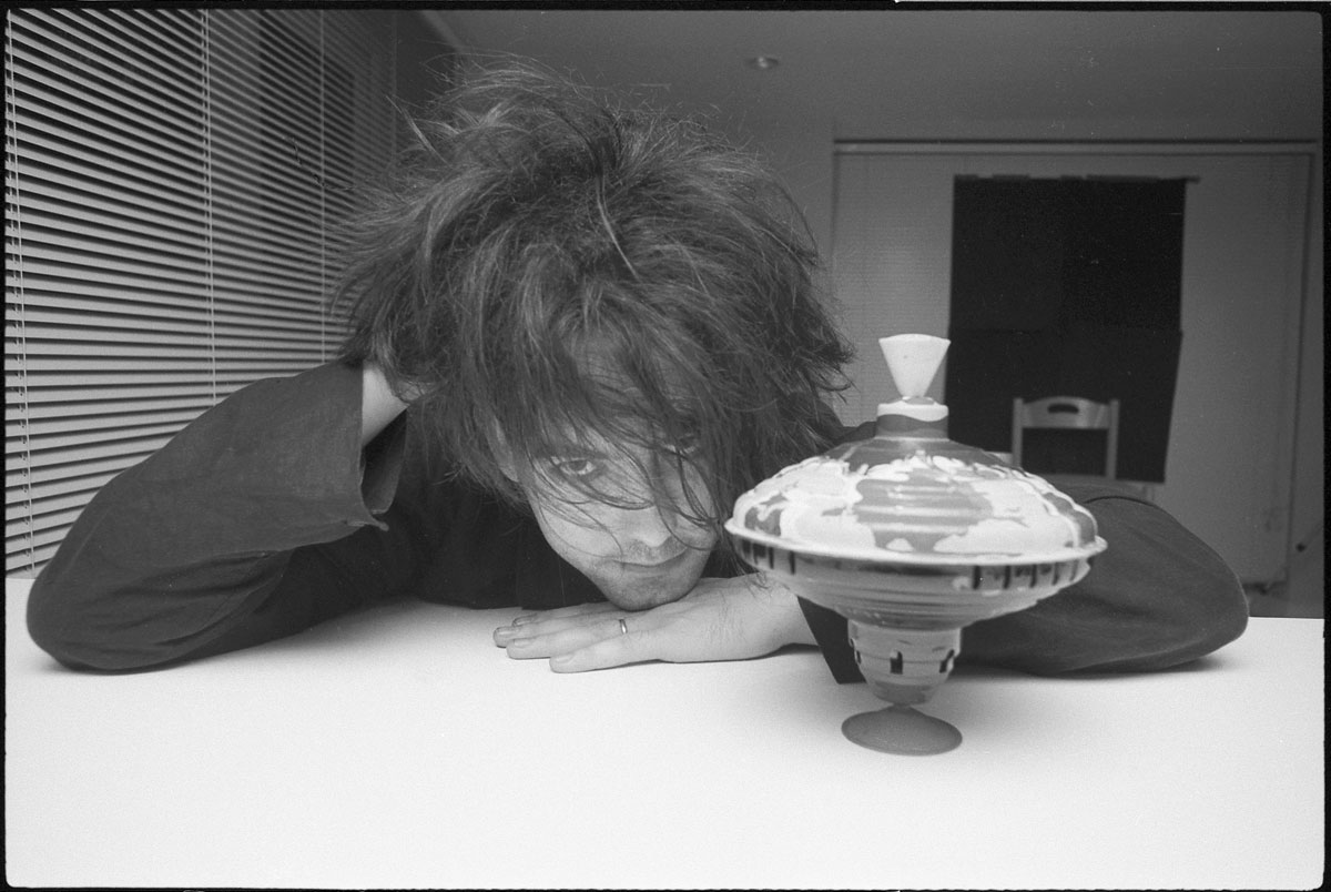 Robert Smith, The Cure, Fiction Records, Charlotte Street, Londres, novembre 1985