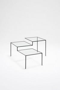 Nendo, table, thin black lines series, 2010. © Photo Masayuki Hayashi