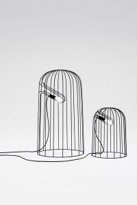 Nendo, lamp, thin black lines series, 2010. © Photo Masayuki Hayashi