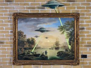 Banksy UFO