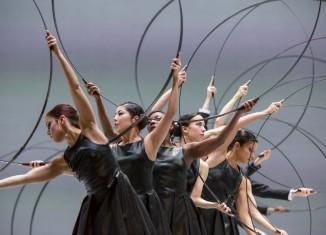 GöteborgsOperans Stora Scenen, en del dansprogramet