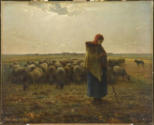 Bergère avec son troupeau, dit La grande bergère, vers 1863 © musée d'Orsay, legs d'Alfred Chauchard, 1909