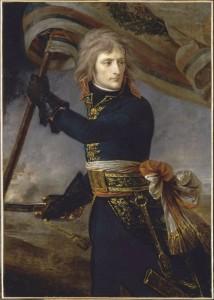 Le Général Bonaparte à Arcole Antoine-Jean Gros (1770-1835) 1796 - Huile sur toile H. 130 ; L. 94 cm Dépôt du département des Peintures du musée du Louvre, 1938