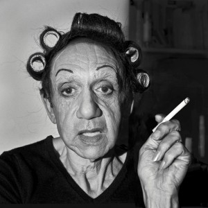 Hommage à Diane ARBUS, A Young Man in Curlers at Home on West 20th Street, N.Y.C., 1966, 2013