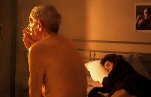 Hommage à Nan GOLDIN, Nan and Brian in bed, NYC, 1983. Courtesy Galerie Thierry Bigaignon.