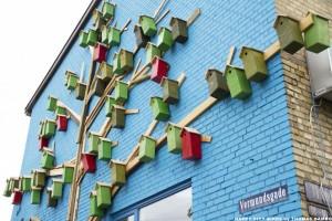 Happy City Birds © Thomas Dambo