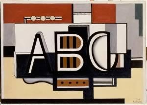 Fernand Léger, Nature Morte, A.B.C., 1927 Musée national Fernand Léger, Biot © Photo RMN-Grand Palais (Musée Fernand Léger)/Gérard Blot © SABAM Belgium 2018