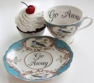 Insults Tea Cups © Miss Havisham